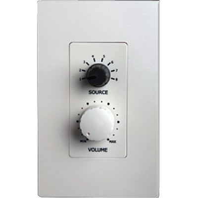 Bogen Communications RAC5  5 Source Wall-Mounted Remote Control for CORE System RAC5