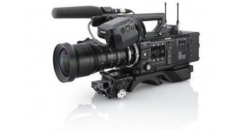 Sony CBK55BK EFP-Style Build-up Kit for PMW-F55 and PMW-F5 CineAlta cameras CBK55BK
