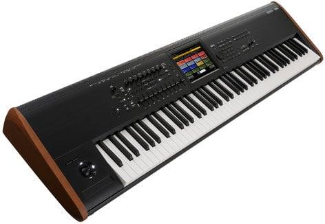 Korg Kronos 8 88-Key Keyboard Synthesizer Workstation With RH3 Graded  Hammer Action