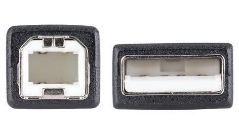 Liberty AV Solutions E-USBAB-3  3' Economy Molded USB 3.0 A Male to B Male E-USBAB-3