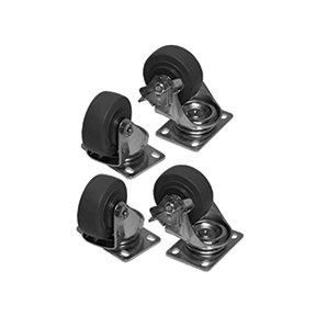 Lowell LXR-C3S Set of 4 Swivel Casters for LXR Rack Series LXRC3S