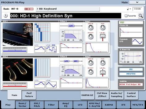 Korg KRONOS6 Kronos 61 Workstation Keyboard KRONOS6