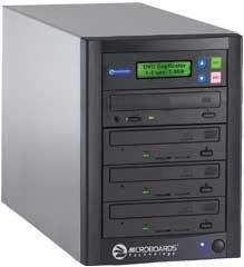 Microboards QD-DVD-123 1 to 3 Disc 18x DVD/48x CD Duplicator QD-DVD-123
