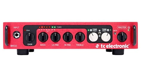 TC Electronic BH-550 550W Bass Amplifier Head with TonePrint BH-550