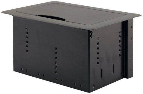 Kramer TBUS-10XL  Table Mount Modular Multi-Connection Solution with Manually Retracting Lid TBUS-10XL