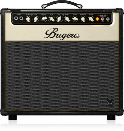 "Bugera V55 Infinium 55W 2-Channel 1x12"" Tube Guitar Combo Amplifier V55-INFINIUM"