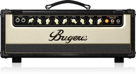 Bugera V55HD Infinium 55W 2-Channel Tube Guitar Amplifier Head V55HD-INFINIUM