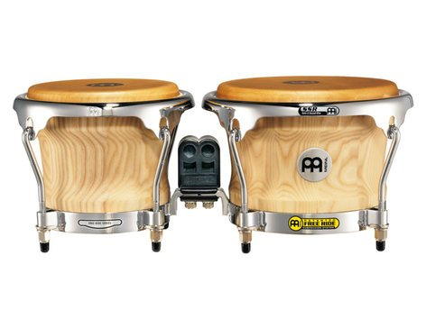 "Meinl Percussion CS400AWA-M 7"" & 8.5"" American White Ash Bongos CS400AWA-M"
