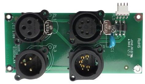 Martin Professional 62004624  XLR Connector PCB for MAC 700 Wash 62004624