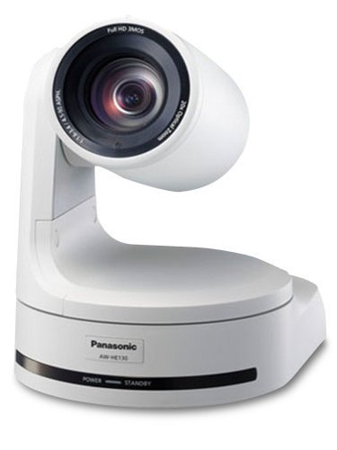 "Panasonic AWHE130 1/2.86"" 3MOS Full HD PTZ Camera With 20x Optical Zoom"