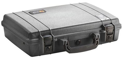 Pelican Cases 1470 Black Laptop Case with Foam Interior PC1470-BLACK