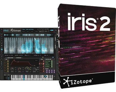iZotope Iris 2 Upgrade from Iris Crossplatform Sample-Based Synthesis Software IRIS-2-UG