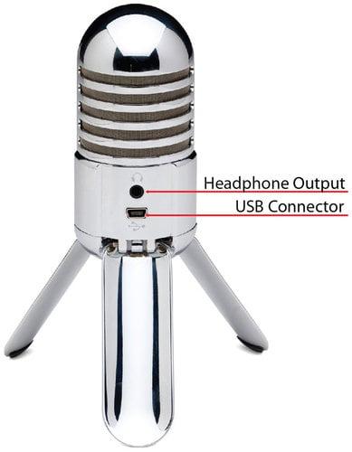 Samson Meteor Mic USB Studio Cardioid Condenser Microphone METEOR