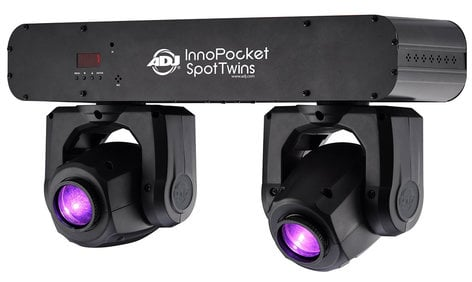 ADJ Inno Pocket Spot Twins Compact Dual Moving Head Fixtures INNO-POCKET-SPOT-TWN