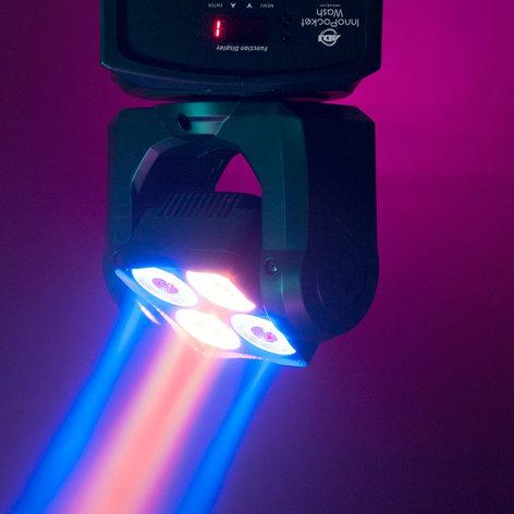 ADJ Inno Pocket Wash 4x10W Compact Moving Head LED Wash INNO-POCKET-WASH