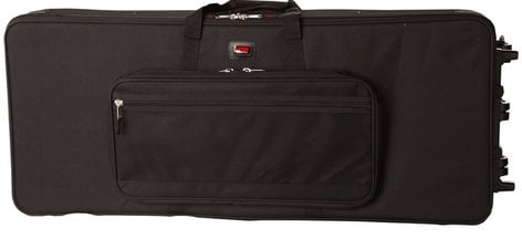 Gator Cases GK-88 XL Lightweight Hard Case with Wheels for Extra Long 88-Note Keyboards GK88-XL