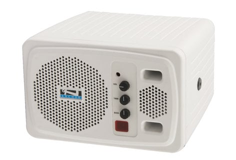 Anchor AN130BP+/WH8000 Compact Portable AC Powered PA System with Wireless Receiver and Handheld Microphone Transmitter AN130BP+/WH8000