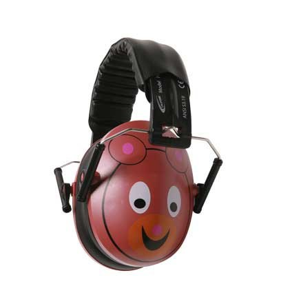 Califone International HS-BE  Hush Buddy Hearing Protection for Kids with Bear Motif HS-BE