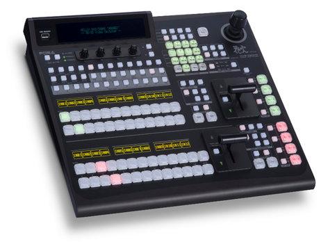 FOR-A Corporation HVS-390HS-2M/E Type B 12 Button HD-SD Video Switcher Package HVS-390HS-2M/E-B