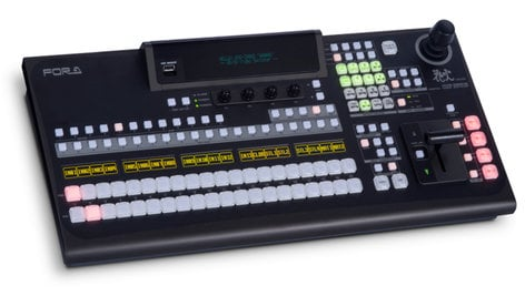 FOR-A Corporation HVS-390HS 1M/E HD-SD Video Switcher Package with HVS-391OU 20 Button Panel HVS-390HS-1M/E