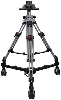 Cartoni P200 P20 Pedestal System with 100mm Ball Base Adapter and A 866 Manual Air Pump P200-CARTONI