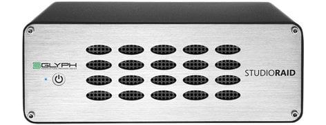 Glyph SR6000 RAID 6TB USB 3.0/FireWire/eSATA RAID External Hard Drive SR6000