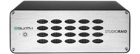 Glyph SR8000 RAID 8TB USB 3.0/FireWire/eSATA RAID External Hard Drive SR8000