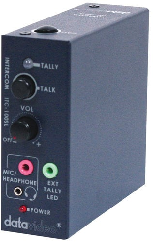 Datavideo Corporation ITC100-HP2K ITC-100 Intercom System Combo Product Package for Four Users ITC100HP2K