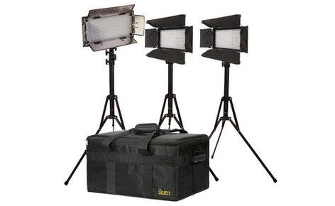 ikan Corporation IBK23150-v3 Small Interview Dual Color Kit (2 x iLED312-v2, 1 x IB508-v2) Version 3 IBK23150-V3
