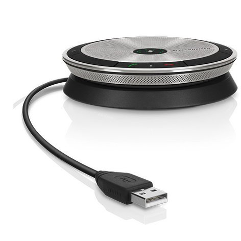 Sennheiser SP 10 ML Portable USB Conference Speakerphone for Microsoft Lync SP-10-ML