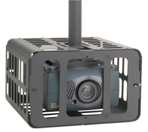 Chief PG2AW Small Projector Security Cage in White PG2AW