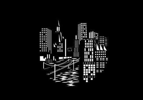 Apollo Design Technology MS-1212 City Night Bridge Pattern Steel Gobo MS-1212