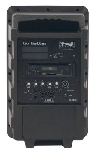 Anchor GG-8000C Go Getter Portable PA System with Onboard CD/MP3 Player and Bluetooth Connectivity GG-8000C