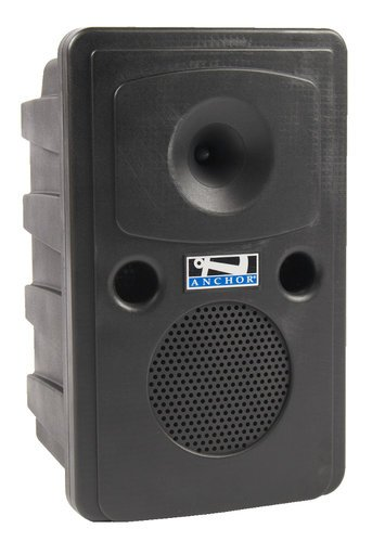 Anchor GG-8000CU1 Go Getter Portable PA System with (1) UHF Wireless Receiver, CD/MP3 Player and Bluetooth Connectivity GG-8000CU1