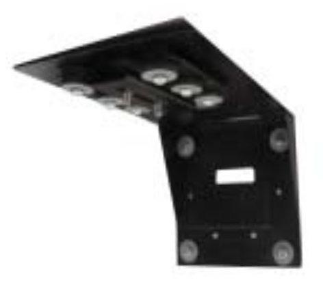 Nigel B Design NB-AVCB Universal Anti-Vibration Wall Mount in Black NB-AVCB
