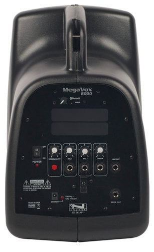 Anchor MEGA-8000 MegaVox Pro Portable PA System with Bluetooth Connectivity MEGA-8000