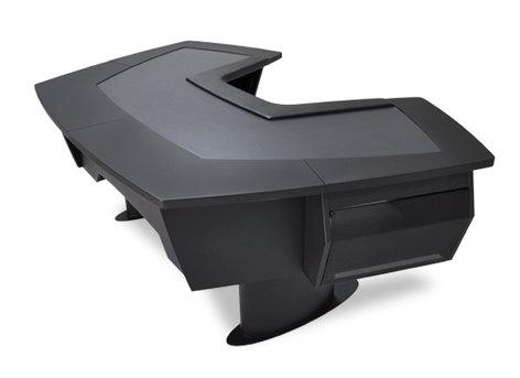 Argosy Consoles A260-N-B-B  Aura 260 Personal Workstation with (2) 7RU Racks A260-N-B-B