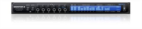 MOTU Monitor 8 24x16x8 Monitor Mixer & USB/AVB Audio Interface with 6-Channel Headphone Amplifier MONITOR-8