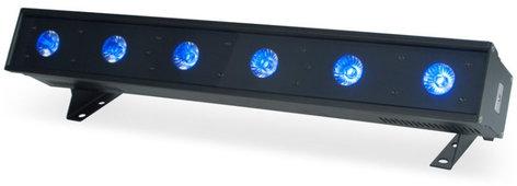 ADJ ULTRA-HEX-BAR-6 Ultra Hex Bar 6 1/2m 6x12W RGBAW+UV LED Bar Luminaire ULTRA-HEX-BAR-6