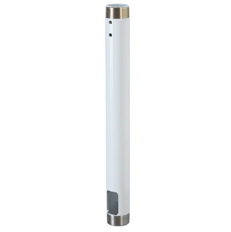"""Chief Manufacturing CMS018W White 18"""" Fixed Extension Column CMS018-W"""