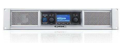 QSC GXD4 1600 Watt Peak 2-Channel Power Amplifier with DSP GXD4