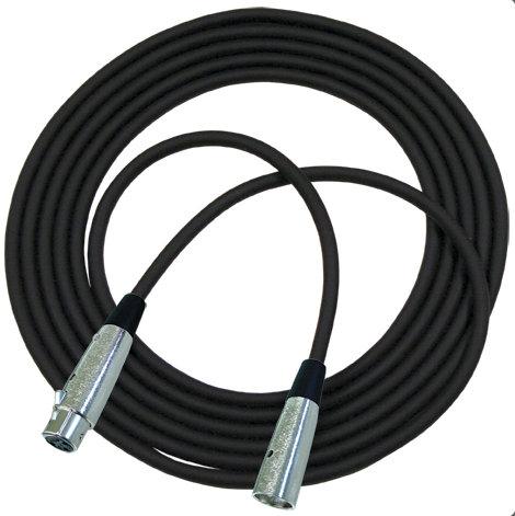 RapcoHorizon Music NBM5-50 50 ft Concert Series Microphone Cable with Neutrik Connectors NBM5-50