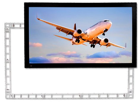 Draper Shade and Screen 383297  StageScreen 90in x144in, 170in Diagonal with Matt White Screen Surface 383297