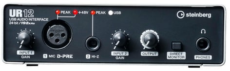 Steinberg UR12 24-Bit/192kHz USB 2.0 Audio Interface UR12