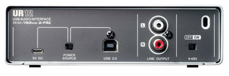Steinberg UR12 24-Bit/192kHz USB 2.0 Audio Interface UR12