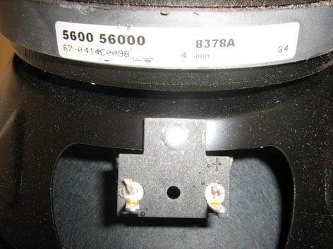 "Electro-Voice F.01U.109.634 8"" Woofer for EV MS802 F.01U.109.634"