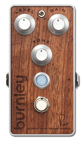 Bogner Burnley Bubinga Overdrive Effects Pedal in Bubinga BURNLEY-BUBINGA
