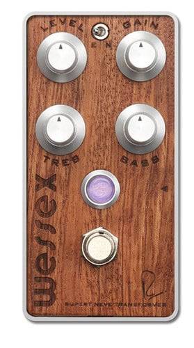 Bogner Wessex Bubinga Overdrive Effects Pedal WESSEX-BUBINGA