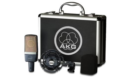 AKG C 214 Large Diaphragm Cardioid Condenser Microphone C214