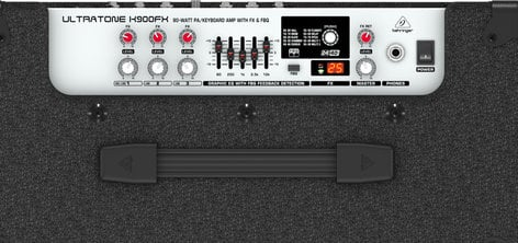 Behringer K900FX 90W 3-Channel Keyboard/PA Amplifier K900FX